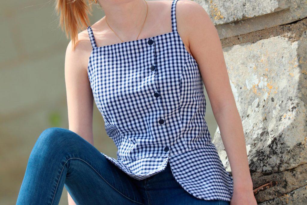 patron de couture caeli vesrion B sewing soon