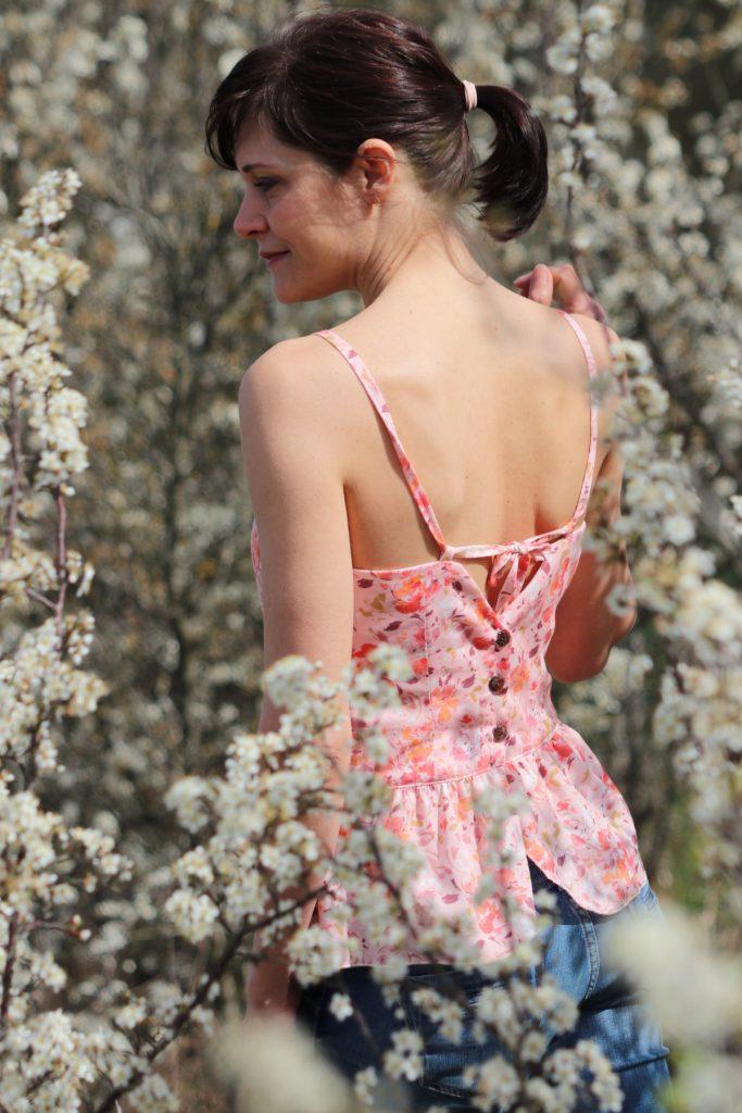 patron de couture caeli vesrion A sewing soon